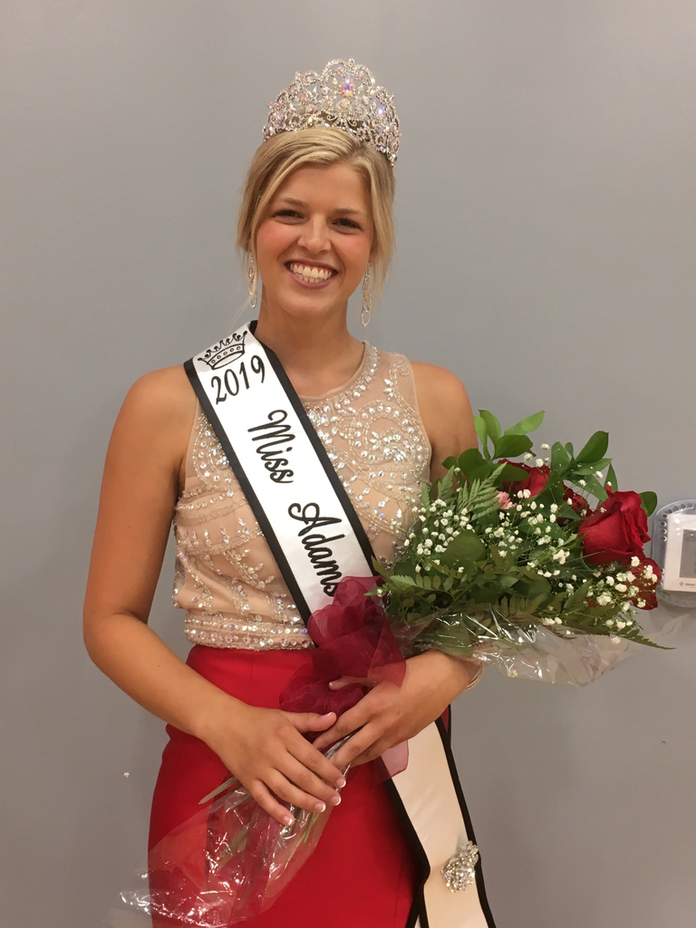 Courtney Lotter Miss Adams County