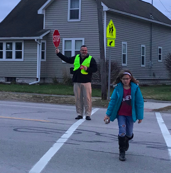 Mahaffey Crossing Guard