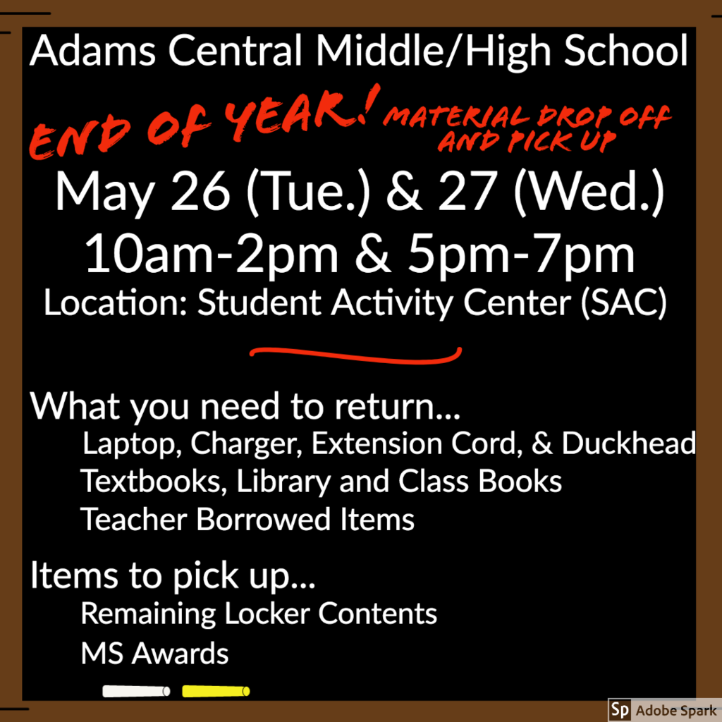 MSHS Drop off and pick up